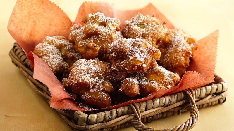 Apple Cinnamon Fritters