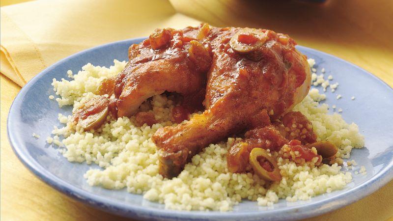 Speedy Mediterranean Chicken