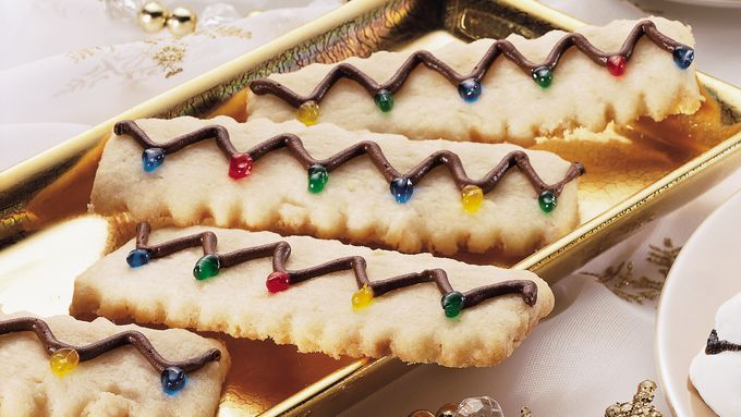 String o' Lights Almond Wafers