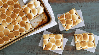 Marshmallow-Brown Butter-Pumpkin Slab Pie
