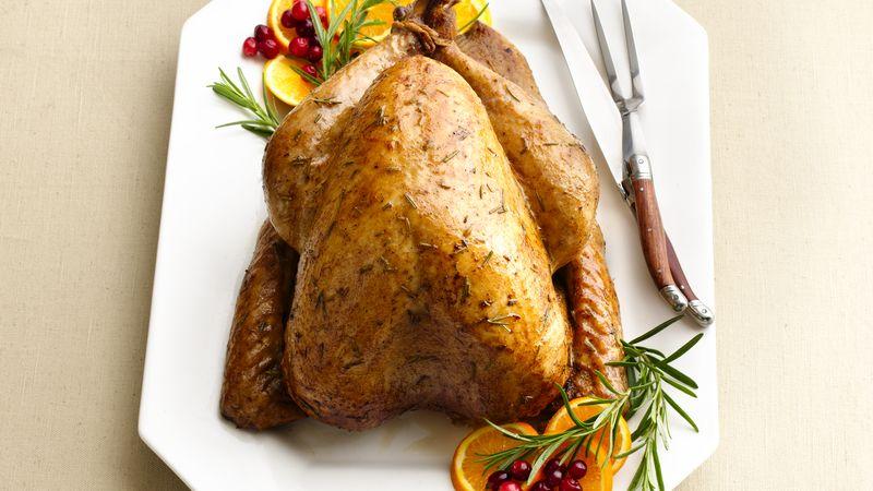 Beer and Rosemary Roasted Turkey