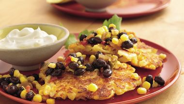 Southwestern Potato Patties