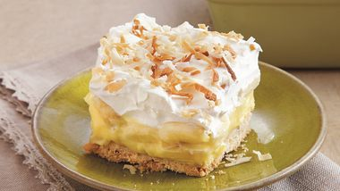 Banana-Coconut Cream Dessert