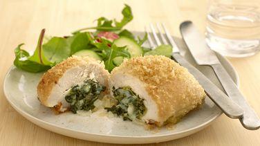 Spinach-Stuffed Chicken Breasts