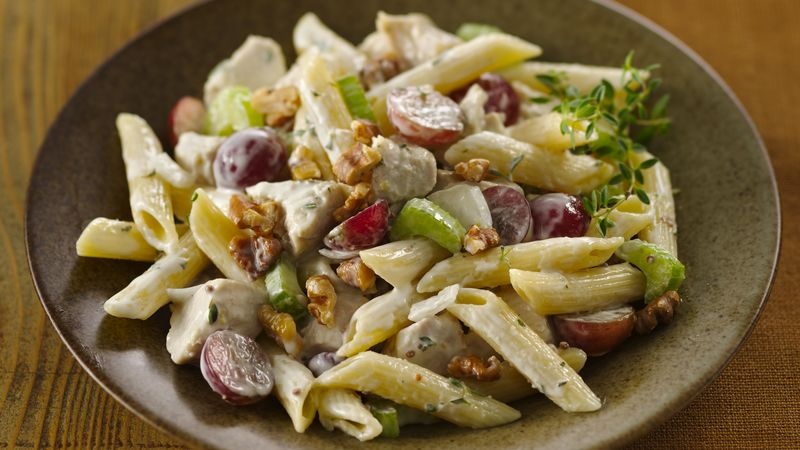 Chicken-Thyme-Penne Salad
