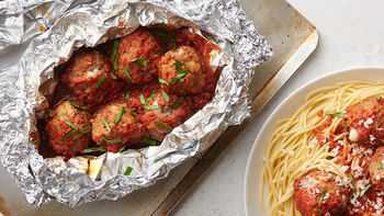 Spicy Meatball Foil Packs