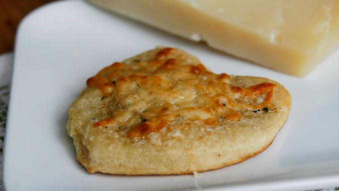 Two Cheese Garlic Bread Mini Pizzas