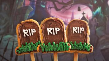 Tombstone Cookie Pops