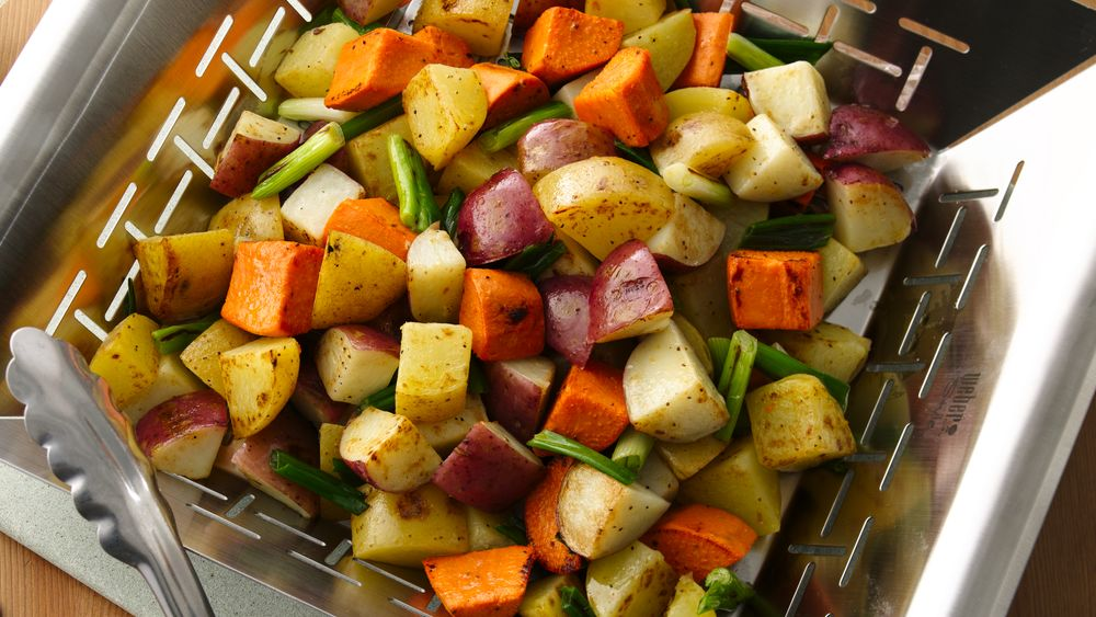 Grilled Three-Potato Salad