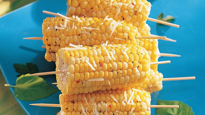 Savory Corn on a Stick