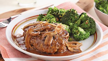 Hamburger Steak with Gravy