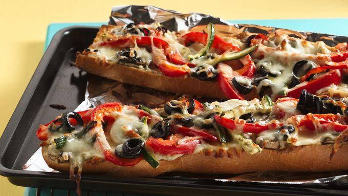Foot-Long Pizza