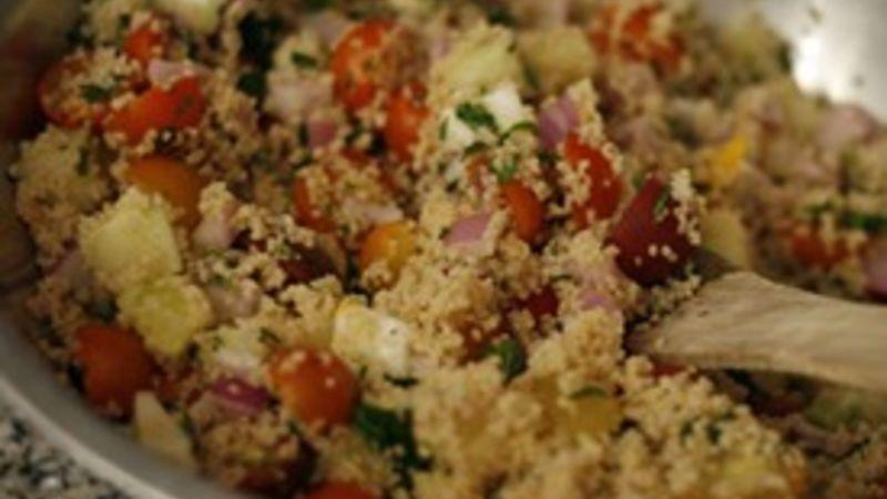 Whole Wheat Couscous Tabbouleh
