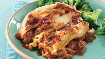 Slow-Cooker Italian Sausage Lasagna