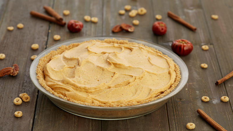 Gluten-Free Pumpkin Cream Pie
