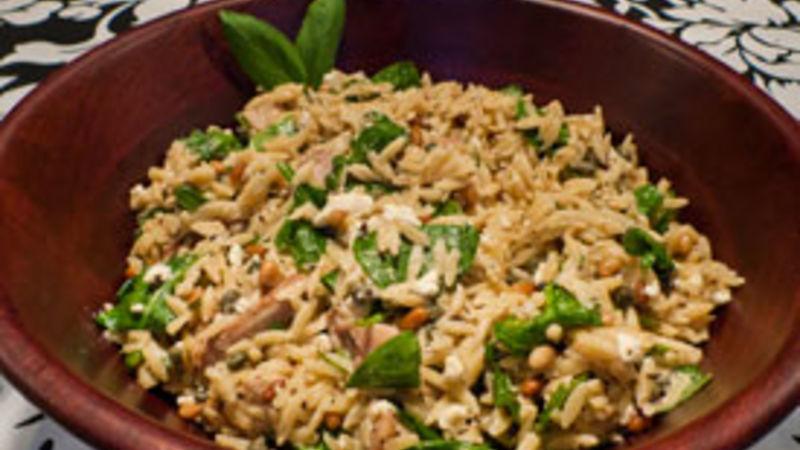 Chicken Orzo Pasta Salad