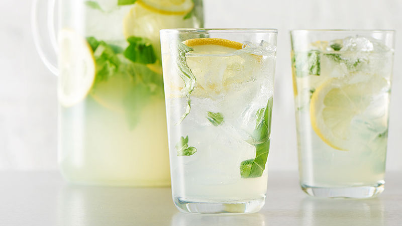 Basil Lemonade Punch
