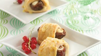 Stuffed Date Roll-Ups