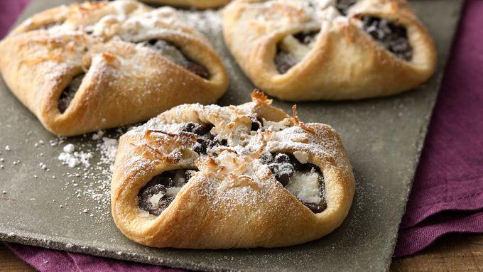 Creamy Coconut Mocha Hazelnut Pastries