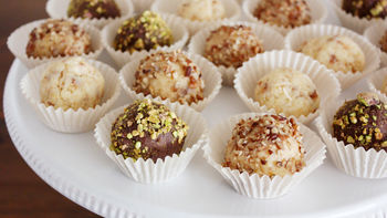Pound Cake Truffles 3 Ways