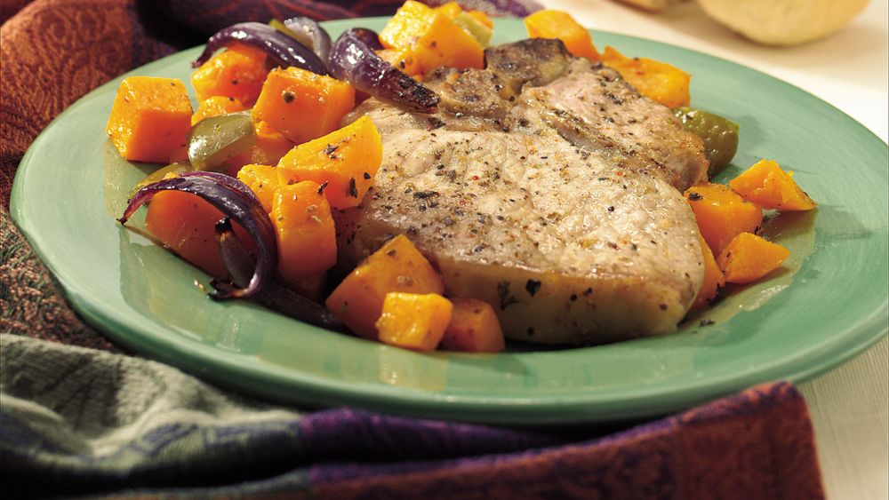 Harvest Pork Chop Bake