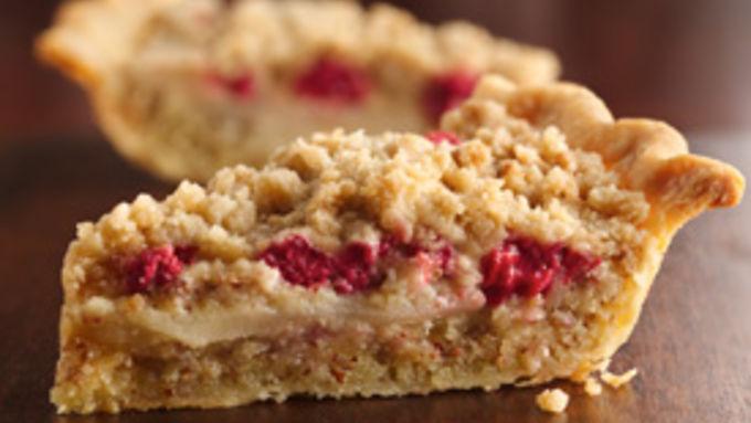 Crumbleberry Pear Pie