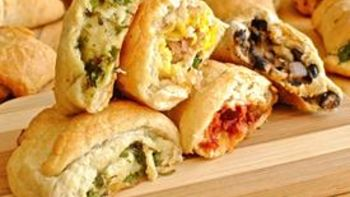 Savory Stuffed Crescent Rolls