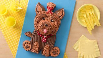 Yorkie Dog Cake