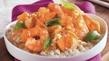Thai Shrimp Sweet Potato Curry