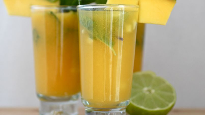 Mango and Coconut Mojito