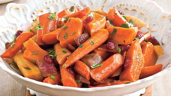 Slow-Cooker Balsamic Root Vegetables