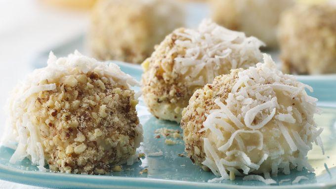 Coconut-Almond Doughnut Pop-ems