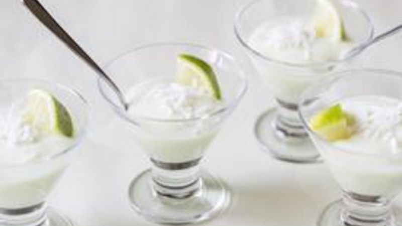 Key Lime Yogurt Shots