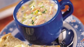 Easy Salmon Chowder