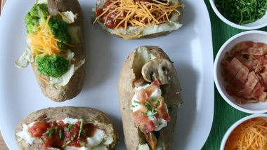 Slow-Cooker Baked Potato Bar