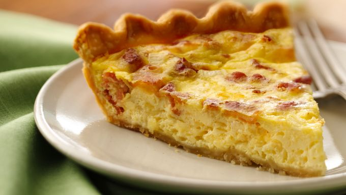 Bacon and Cheese Quiche
