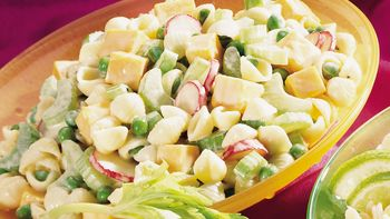 Cheese, Peas and Shells Salad
