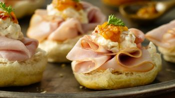 Grands!® Jr. Chutney and Ham Appetizers