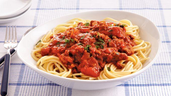 Slow-Cooker Turkey Sausage Tomato Sauce