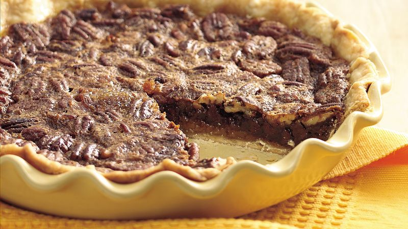 Kentucky Pecan Pie (lighter recipe)