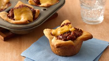 Sloppy Joe Crescent Cups