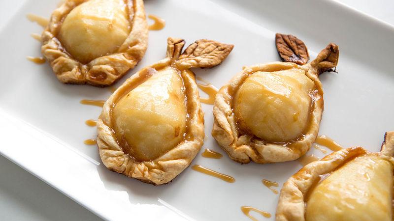 Caramel Pie Pears