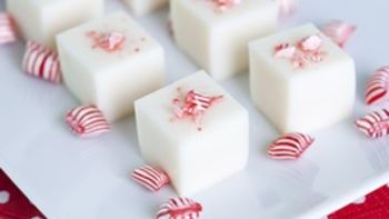 Candy Cane Martini Jello Shots
