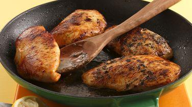 Pollo con Arroz, Limón y Albahaca