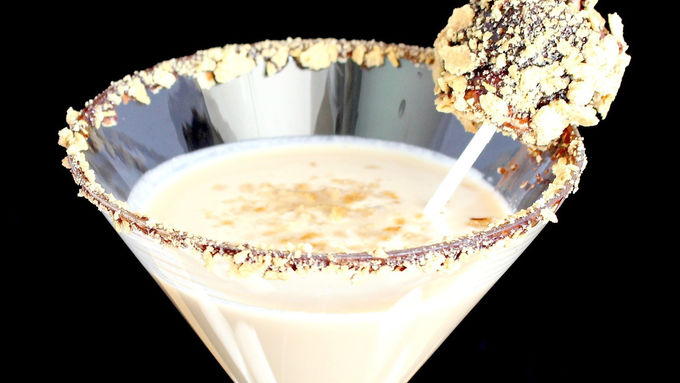 Summer S'mores Martini