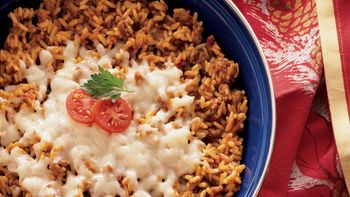 Spanish Rice Skillet Meal