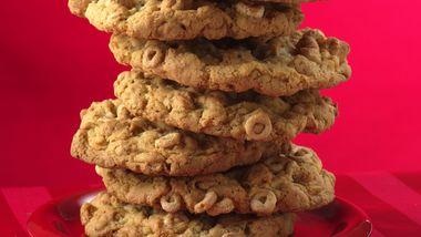 Giant Oat Cookies