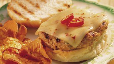 Grilled Texas Turkey Burgers