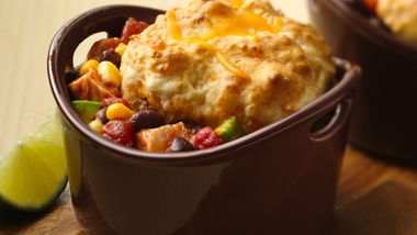 Burrito Pot Pies