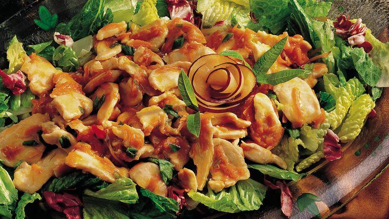 Gluten-Free Chicken Salad with Plum Sauce